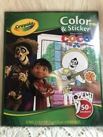 Crayola Disney Fancy Nancy Color & Sticker Booklet 32 ...