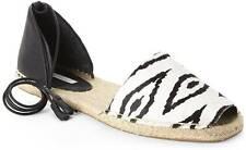 Cynthia Vincent $165 Farie Calf Hair d'Orsay Esapdrille Open Toe Sandals, sz 10