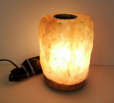 Salacia Heart of the Himalayan Electric Salt Lamp Light with Dimmer, Pink