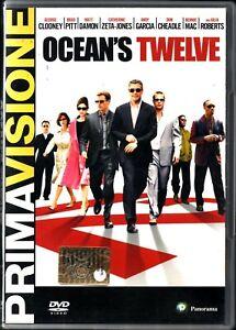 Océan'S Twelve. Prima Visione. DVD in Italiano George Clooney Versione da edi...