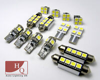 INTERIOR LED SMD Bulbs KIT WHITE CAN BUS fit Peugeot 206CC convertible