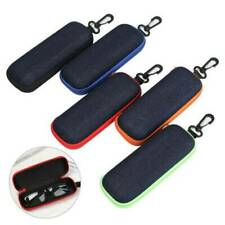 Glasses Hard Case Sunglass Protector Travel Hard Eyeglass Zipper Carry Bag Box ~