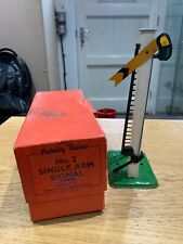 Vintage Meccano Hornby O Gauge No 2 Single Arm Signal Distant 42360 - Boxed