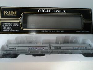 K-LINE K676-1831... NORFOLK SOUTHERN   O SCALE COIL CAR