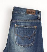 Edwin Femme Herman Pantalon Slim Jean Taille W25 L32 AVZ628