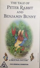 The Tale Of Peter Rabbit And Benjamin Bunny ABC For Kids VHS PAL Video Tape 2001