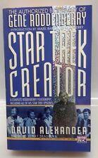 1985 Star Trek Creator:The Authorized Biography of Gene Roddenberry Paperback