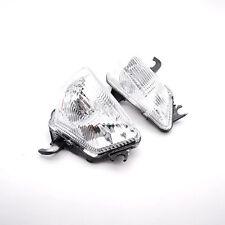 Clear Lens Turn Signals Blinker Lamp Cover For Kawasaki Z1000 Z1000SX 2011-2013