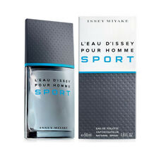 PARFUM ISSEY MIYAKE L'EAU D'ISSEY SPORT POUR HOMME EDT 100ML NEUF, SOUS BLISTER