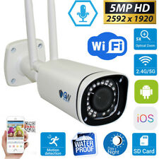 5MP Wireless WIFI Camera 5X Motorized Optical Zoom IP Microphone Security Camera