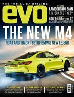 EVO Magazine APRIL 2021 - BMW M4 - VW Golf R Mk8 Audi RS e-tron GT McLaren 570S