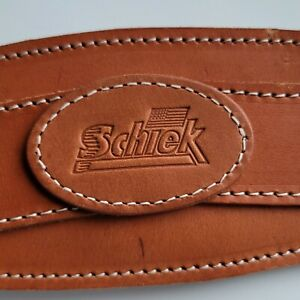 Schiek Sports Leather Contour Weight Lifting Belt BRAND NEW WITH STAINS  size XS