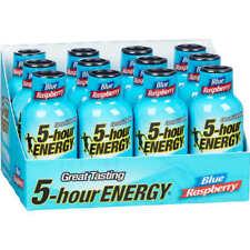 5-Hour Energy Shot, Extra Strength, Blue Raspberry, 1.93 oz 12ct