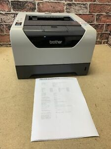 Brother HL-5350DN Mono Laser 131 Duplex Printer Video In Description No Ink