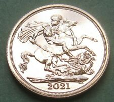 More details for 2021 full gold sovereign - queen elizabeth ii - no reserve