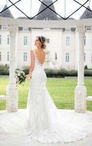 Wedding Dress by Stella York Style 6695