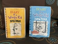 The Diary of a Wimpy Kid Set Of 2 Dog Days |  Cabin Fever. By  Jeff Kinney