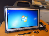 """Panasonic CF-D1 Toughbook Tablet Rugged 13,3"""" WIN 7 4GB 250GB TOUCH + PSU"""