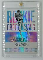 2017-18 Panini Status Rookie Credentials Jayson Tatum RC #18, Insert, Celtics