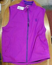 New listing Cutter & Buck Women's L large Full Zip CB WeatherTec golf vest CAVALRY CLUB