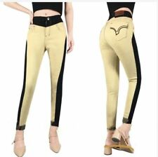 SITTCHING JEANS 25-33 (EO) (black and gold)  SIZE  29