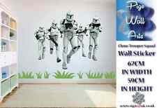Star WARS CLONE TROOPER Squad Enfants Chambre Wall Sticker grandes.