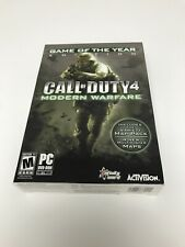 Call of Duty 4: Modern Warfare Game of the Year Edition (PC) FACTORY SEALED!