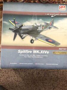 1:48 HOBBYMASTER HA7101 - SPITFIRE MK.XIVe Johnnie May 1945 WW2 PLANE. Ltd Edt