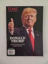 TIME MAGAZINE PRESIDENT DONALD TRUMP BRAND NEW IN COLTR. SLEEVE ***READ BELOW !~