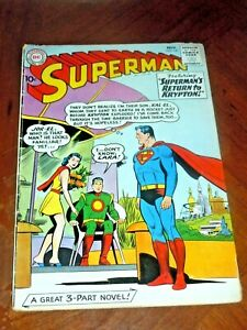 SUPERMAN #141 (1960)  VG-F (5.0) cond.  WAYNE BORING art  RETURN to KRYPTON
