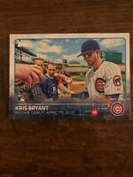 2015 Topps Rookie Debut KRIS BRYANT US283 Chicago Cubs RC