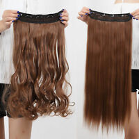 Thick One Piece 3/4 Full Head Clip in Hair Extensions for Human Extension H95