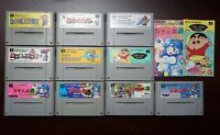 Super Famicom 10 SFC game lots US Seller