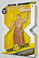 "WWE Elite Collection NXT Takeover ALEXANDER RUSEV 6"" Figure w/ Entrance Gear NIB"