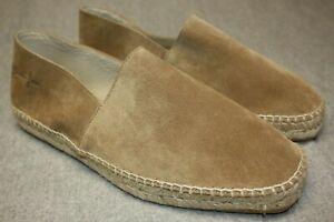 Men's Castaner Suede Espadrilles Size 9&1/2 W
