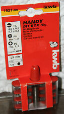 KWB Handy Bit Box 7tlg Bits magnetisch