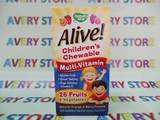 Nature's Way Alive Children's Multi-Vitamin Orange and Berry Flavor