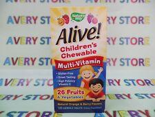 Nature's Way Alive Children's Multi-Vitamin Orange and Berry Flavor