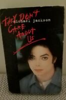 Michael Jackson - They Don't Care About Us (Cassette Maxi Single, 1995) Rare