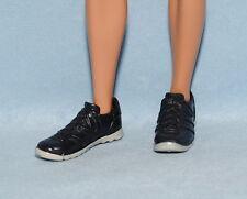 COOL CASUAL Dark Blue Gray Sole KEN Faux Lace Tennis Shoes Genuine BARBIE