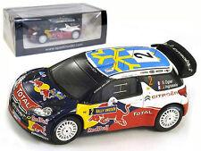 Spark S3301 Citroen DS3 WRC #2 Sweden Rally 2011 - S Ogier 1/43 Scale