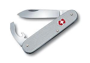 Victorinox - Couteau Suisse Bantam Alox Gris 5 Fonctions - 0.2300.26