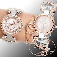 Just Cavalli JC1L074M0065 Armbanduhr und Armband im Set zweifarbig neu