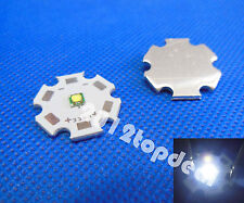 Cree XP-G XPG R5 5w Cool White 6000-6500k LED Emitter chip With 20mm star Base