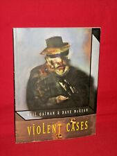 Violent Cases Neil Gaiman Dave McKean graphic novel pbk Sandman author used