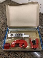 Vintage 6pc Tubing Cutter Flaring / Bending Tool Kit Cut / Flare