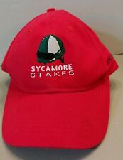 KEENELAND THOROUGHBRED HORSE RACE TRACK SYCAMORE STAKES BALL CAP LEXINGTON KY