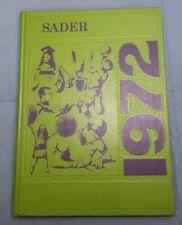 Beloit Catholic High School Yearbook: 1972 Sader