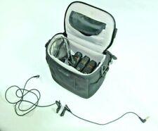 Azden Wireless Transmitter & Receivers Lot+Microphones VHF System WR/WM-PR0