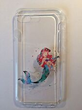 Disney Ariel Little Mermaid  Clear Silicone Gel Case For iPhone 7 Or 8 PLUS